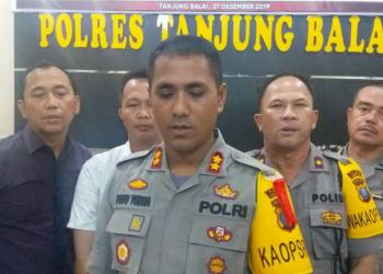 Pilkada Tanjung Balai 2020 : Kapolres Pimpin Apel Pemeriksaan