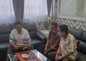 Diskusi santai tim pakar Humas dengan Dirkrimum Polda Sumut (ANTARA/HO)