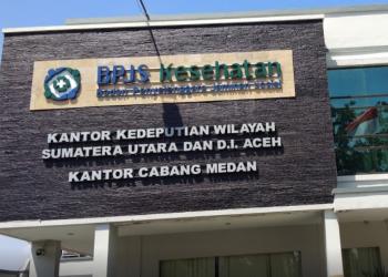 Kantor BPJS Kesehatan Medan Ditutup